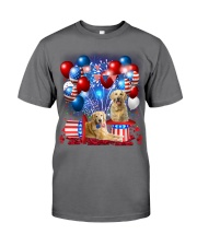 Golden Retriever  Independence Vr2 Premium Fit Mens Tee thumbnail