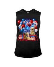 Golden Retriever  Independence Vr2 Sleeveless Tee thumbnail