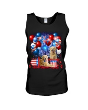 Golden Retriever  Independence Vr2 Unisex Tank thumbnail
