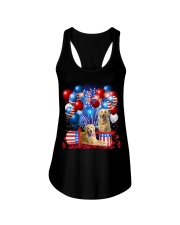 Golden Retriever  Independence Vr2 Ladies Flowy Tank thumbnail