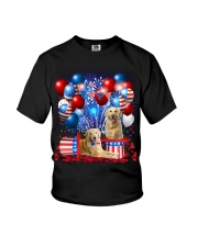 Golden Retriever  Independence Vr2 Youth T-Shirt thumbnail