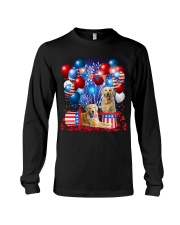 Golden Retriever  Independence Vr2 Long Sleeve Tee thumbnail