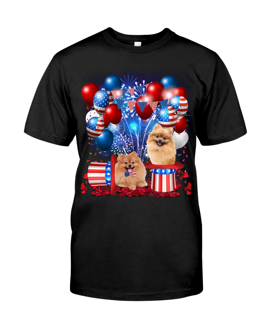 Pomeranian Independence  Vr2 Classic T-Shirt