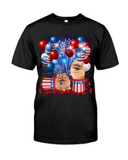 Pomeranian Independence  Vr2 Classic T-Shirt front