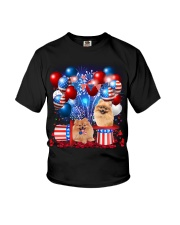 Pomeranian Independence  Vr2 Youth T-Shirt thumbnail