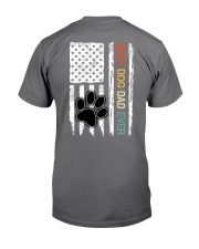 Vintage Best Dog Dad Ever Paw Dog Flag Vr3 Premium Fit Mens Tee thumbnail