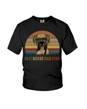 Best Boxer Dad Ever Youth T-Shirt thumbnail
