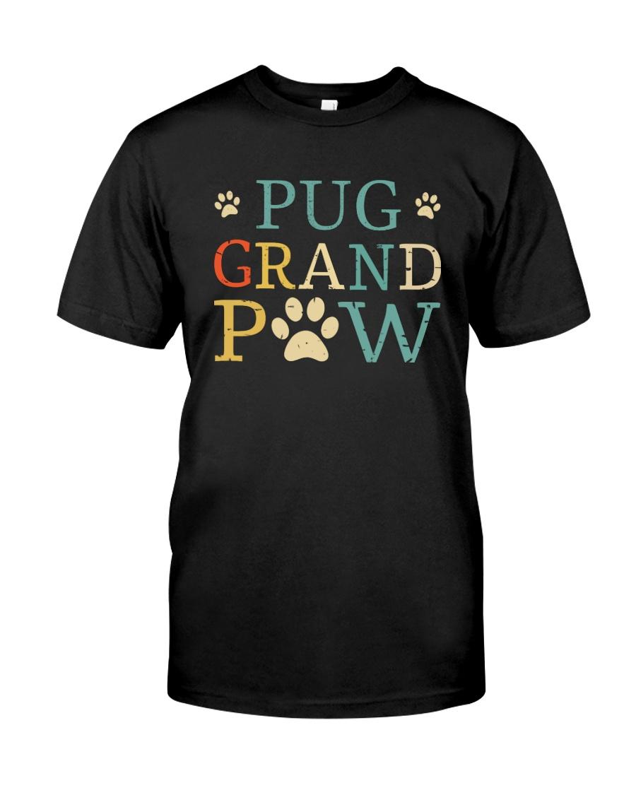 Pug Grandpaw Classic T-Shirt