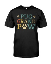 Pug Grandpaw Classic T-Shirt front