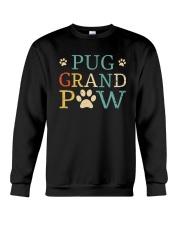 Pug Grandpaw Crewneck Sweatshirt thumbnail
