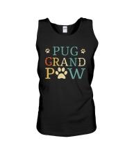Pug Grandpaw Unisex Tank thumbnail