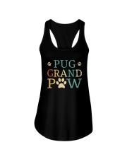 Pug Grandpaw Ladies Flowy Tank thumbnail