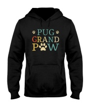 Pug Grandpaw Hooded Sweatshirt thumbnail