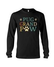 Pug Grandpaw Long Sleeve Tee thumbnail