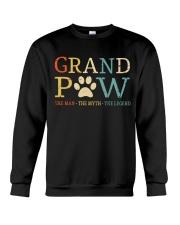 Grand Paw The Man The Myth The Legend Crewneck Sweatshirt thumbnail