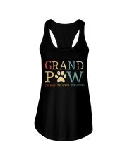 Grand Paw The Man The Myth The Legend Ladies Flowy Tank thumbnail
