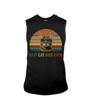 Best Cat Dad Ever Sleeveless Tee thumbnail