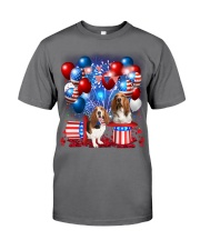 Basset Hound  Independence Vr2 Premium Fit Mens Tee thumbnail