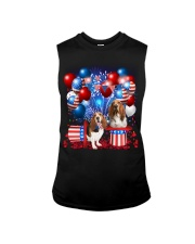 Basset Hound  Independence Vr2 Sleeveless Tee tile