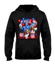 Basset Hound  Independence Vr2 Hooded Sweatshirt thumbnail