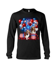 Basset Hound  Independence Vr2 Long Sleeve Tee thumbnail