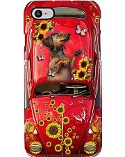 Phone Case - Dachshund Sunflower - Red Phone Case i-phone-7-case