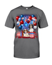 Cavalier King Charles Spaniel  Independence Vr2 Premium Fit Mens Tee tile