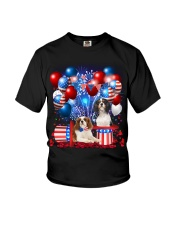 Cavalier King Charles Spaniel  Independence Vr2 Youth T-Shirt thumbnail
