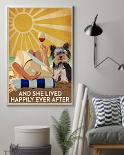Yorkshire And She Lived Happily Ever After 11x17 Poster lifestyle-poster-1