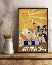 Yorkshire And She Lived Happily Ever After 11x17 Poster lifestyle-poster-3