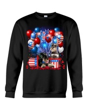Miniature Schnauzer  Independence Vr2 Crewneck Sweatshirt thumbnail