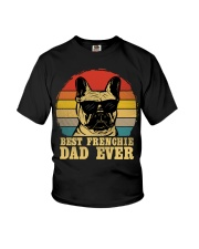 Best French Bulldog Dad Ever Vr4 Youth T-Shirt thumbnail