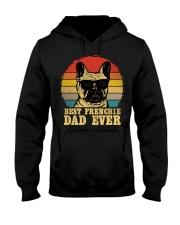 Best French Bulldog Dad Ever Vr4 Hooded Sweatshirt thumbnail