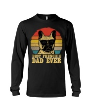 Best French Bulldog Dad Ever Vr4 Long Sleeve Tee thumbnail