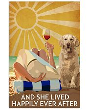 Golden Retriever And She Lived Happily Ever After 11x17 Poster front
