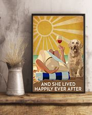 Golden Retriever And She Lived Happily Ever After 11x17 Poster lifestyle-poster-3