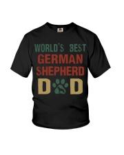 World's Best German Shepherd Dad Youth T-Shirt thumbnail