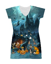 German Shepherd Halloween All-over Dress thumbnail