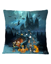 German Shepherd Halloween Square Pillowcase tile