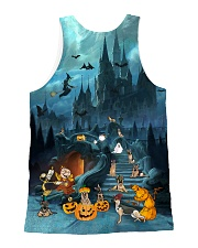 German Shepherd Halloween All-over Unisex Tank back