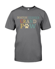 Boston Terrier Grandpaw Premium Fit Mens Tee tile