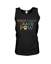 Boston Terrier Grandpaw Unisex Tank tile
