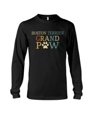 Boston Terrier Grandpaw Long Sleeve Tee tile