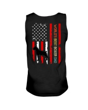 Vintage World's Best Boxer Dad Flag Unisex Tank thumbnail