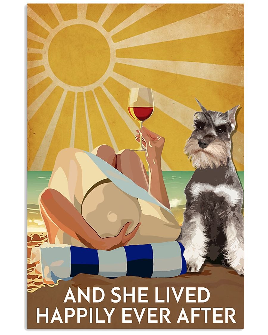 Miniature Schnau And She Lived Happily Ever After 11x17 Poster