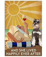 Miniature Schnau And She Lived Happily Ever After 11x17 Poster front