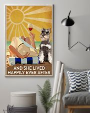 Miniature Schnau And She Lived Happily Ever After 11x17 Poster lifestyle-poster-1