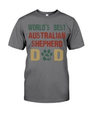 World's Best Australian Shepherd Dad Premium Fit Mens Tee thumbnail