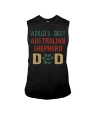 World's Best Australian Shepherd Dad Sleeveless Tee thumbnail