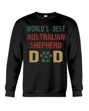 World's Best Australian Shepherd Dad Crewneck Sweatshirt thumbnail